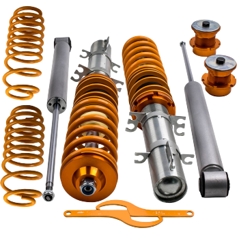 For Volkswagen Golf Mk4 Coilovers 2WD only A4 1998-2005 Coil Springs Adjustable Street Coilovers