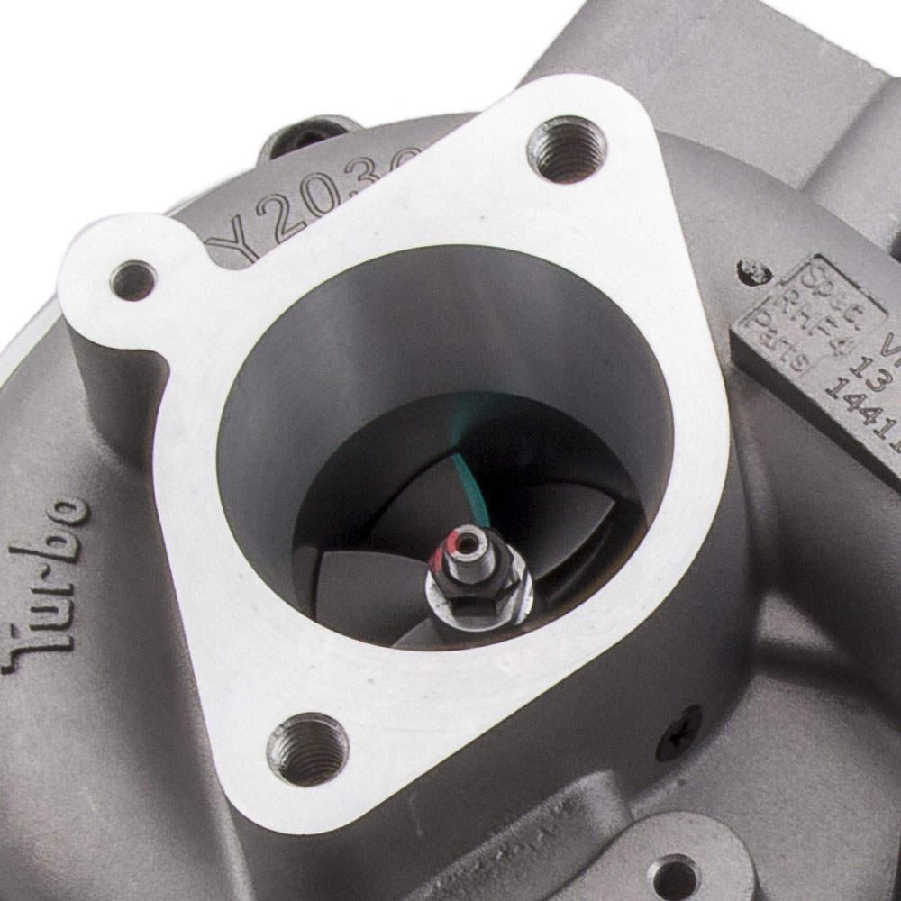 Turbocompresor turbine compatible para Nissan Navara 2.5 di MD22 VN3 14411-VK50B RHF4 Turbo
