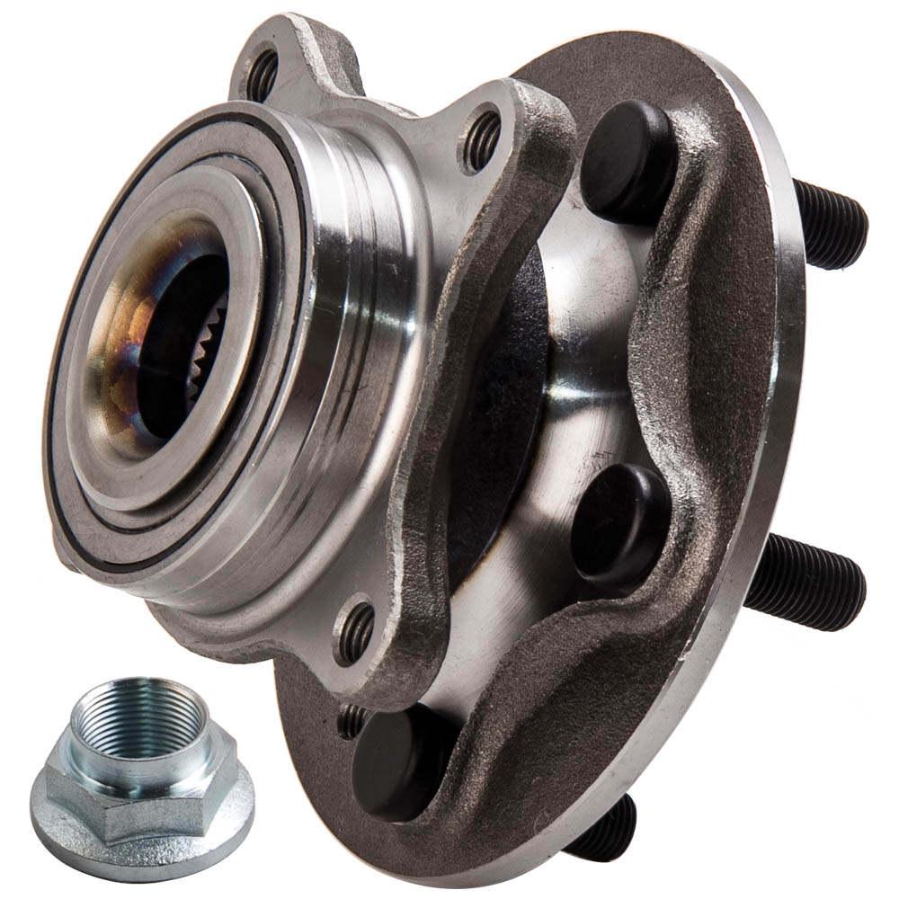 2x enroscarse + rodamiento de ruedas compatible para LAND ROVER DISCOVERY 3 LR014147 NUEVO