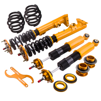 For BMW E36 3 Series 24 Ways Adjustable Damper Shock Absorber Coilovers Suspension Kits