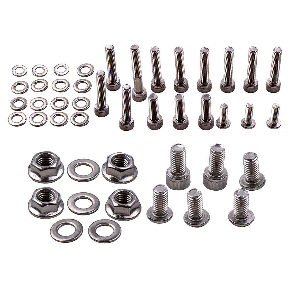 For YAMAHA YFZ350 Banshee Stainless Steel ATV Bolt Screw Kit SET Brand New