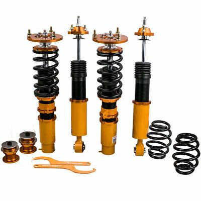 Coilovers completos compatible para BMW Serie 3 E46 Amortiguadores Puntales Ajustable Bobina de altura