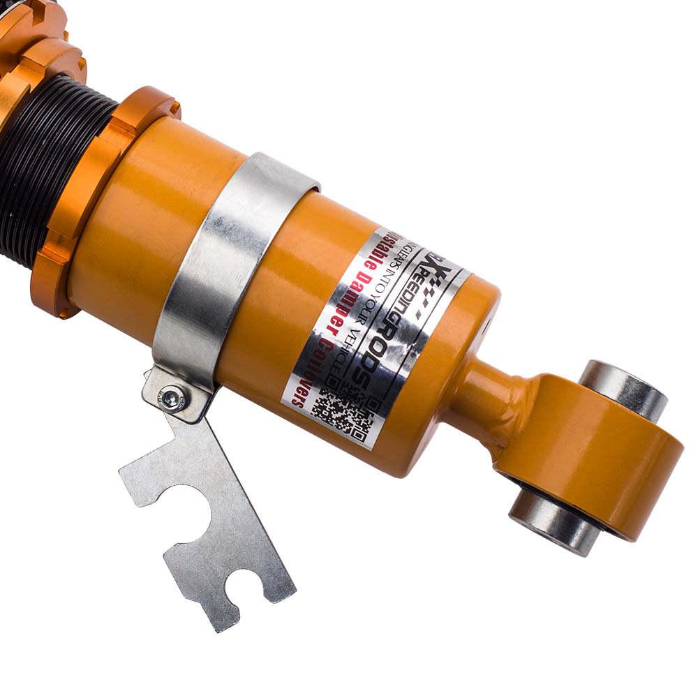 24 Ways Adjustable Coilovers Amortiguadores compatible para Mini Cooper R50 S R53 02-06