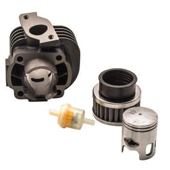 For Polaris Scrambler Predator 50cc ATV Cylinder Piston Rings Gasket Top End Kit