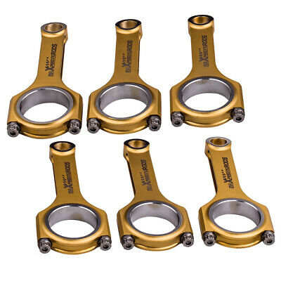 Forged 4340 EN24 Connecting Rods Conrods Con Rod for Audi  VW 3.0T Supercharged
