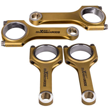 For VW 1.4T EA211 H-Beam Titanizing Connecting Rods