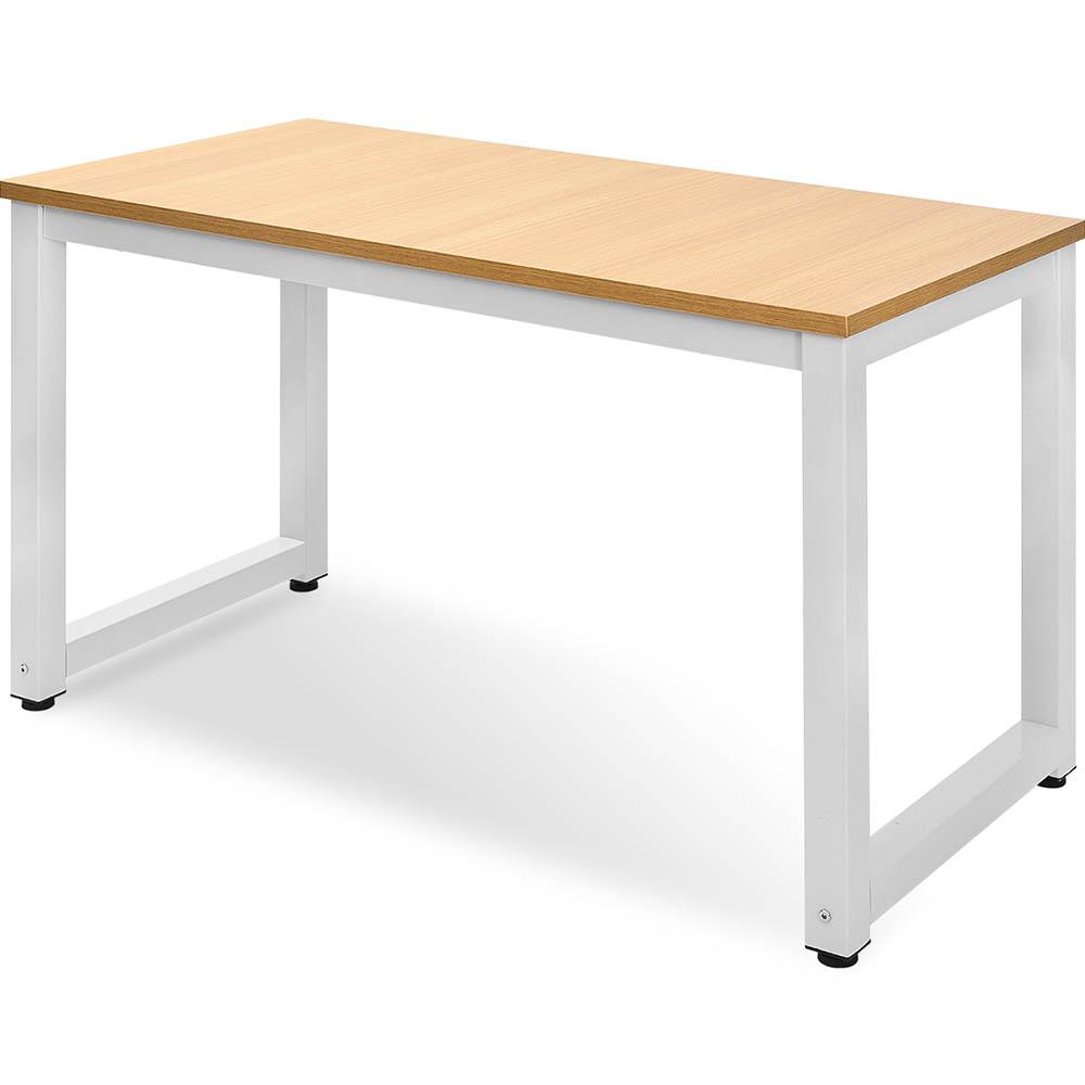 Computer Desk 120x60x75cm PC Laptop Table Writing Table Oak