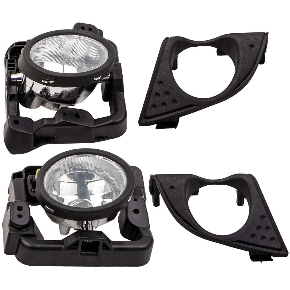 Left Right Foglight Fog Light Lamp Cover For Acura TSX