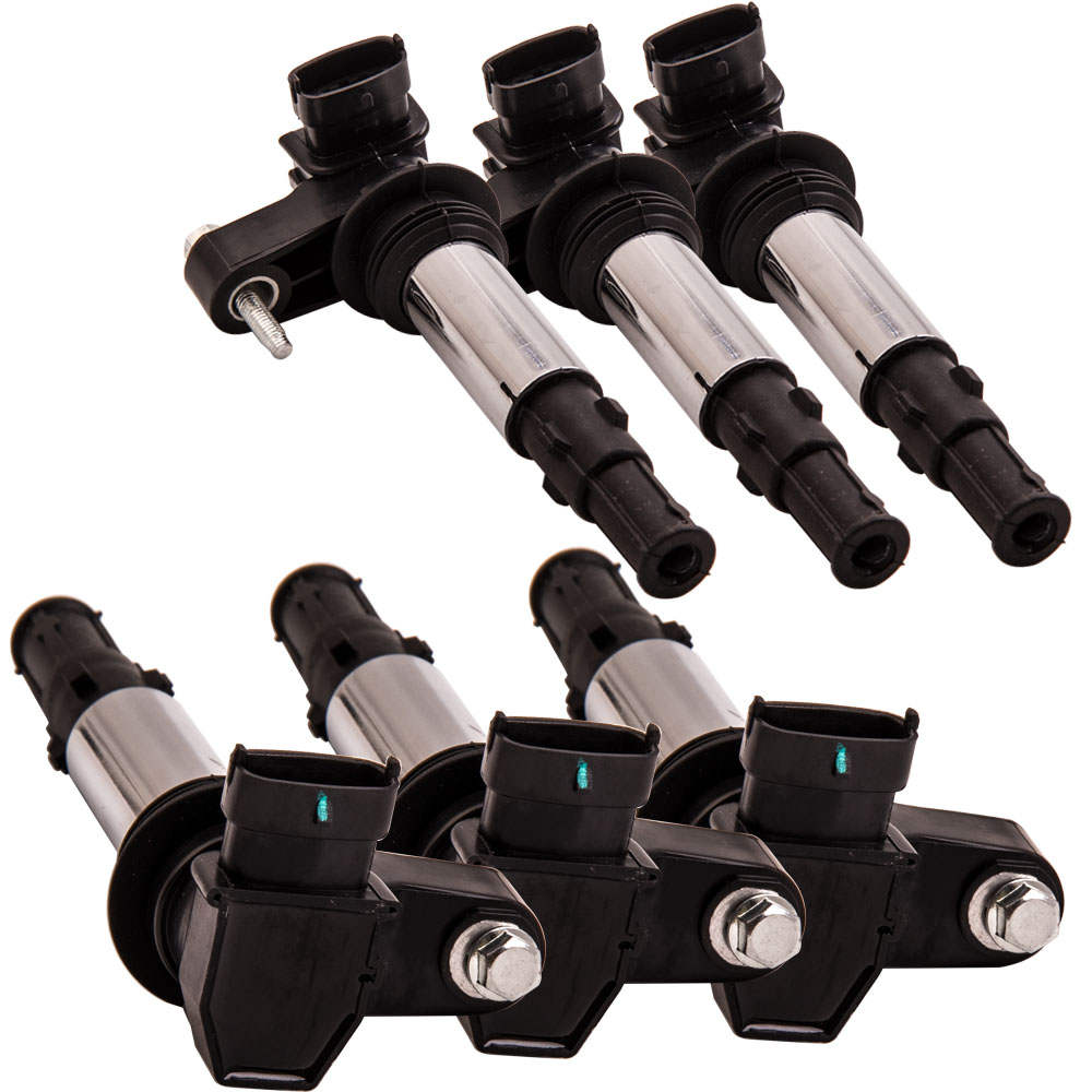 6x E405 Spark Ignition Coil For Buick Enclave LaCrosse Chevrolet Saab 9-3 Saturn