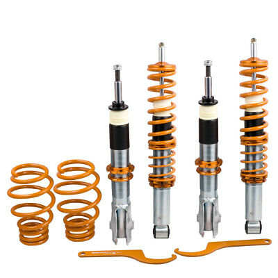 For VW Volkswagen Polo Mk3 6N2 1999 2000 2001 Coilovers Suspension Lowering Kit