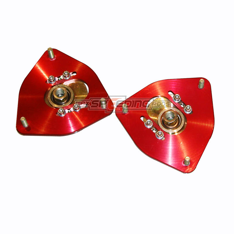 For High Performance Subaru GDB WRX GDF 07 Front Adjustable Camber Plates