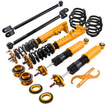 Adjustable Coilover Shock Absorber Strut for BMW E36 316 318 320 328 +  Camber Arms