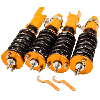 For Honda Civic 1996 - 2000 Pillow Mount Lower Springs Damper Adjustable Coilovers suspension kits