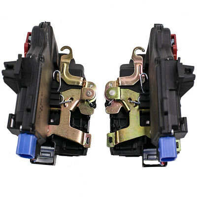 For VW Jetta Golf Touran Touareg Pair Door lock mechanism latch rear axle L/R