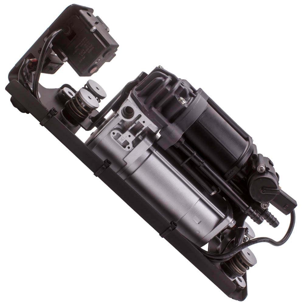 For BMW 5 F11 F11N 37206789450 Air Suspension Compressor w/ Bracket and Valve