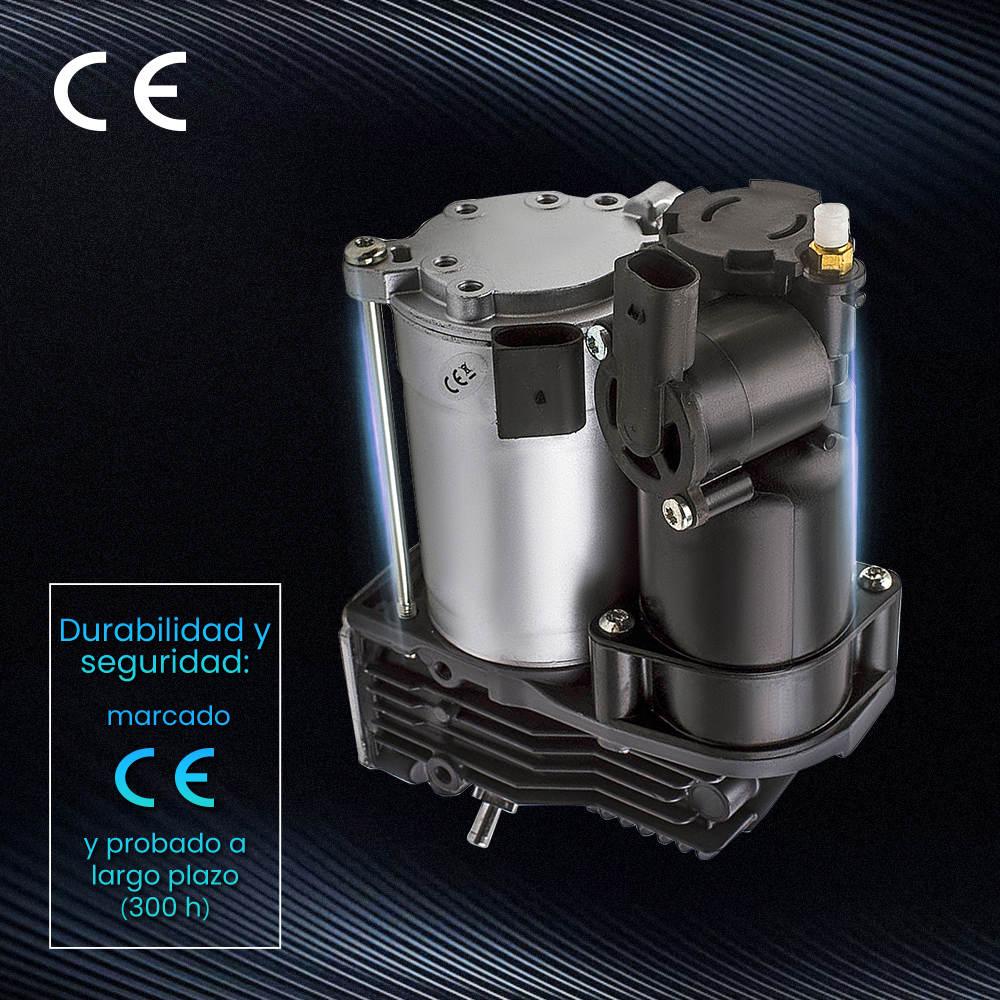 Bomba de compresor de suspensión neumática compatible para BMW Serie 5 E61 520i-545i 520d-535d xDrive
