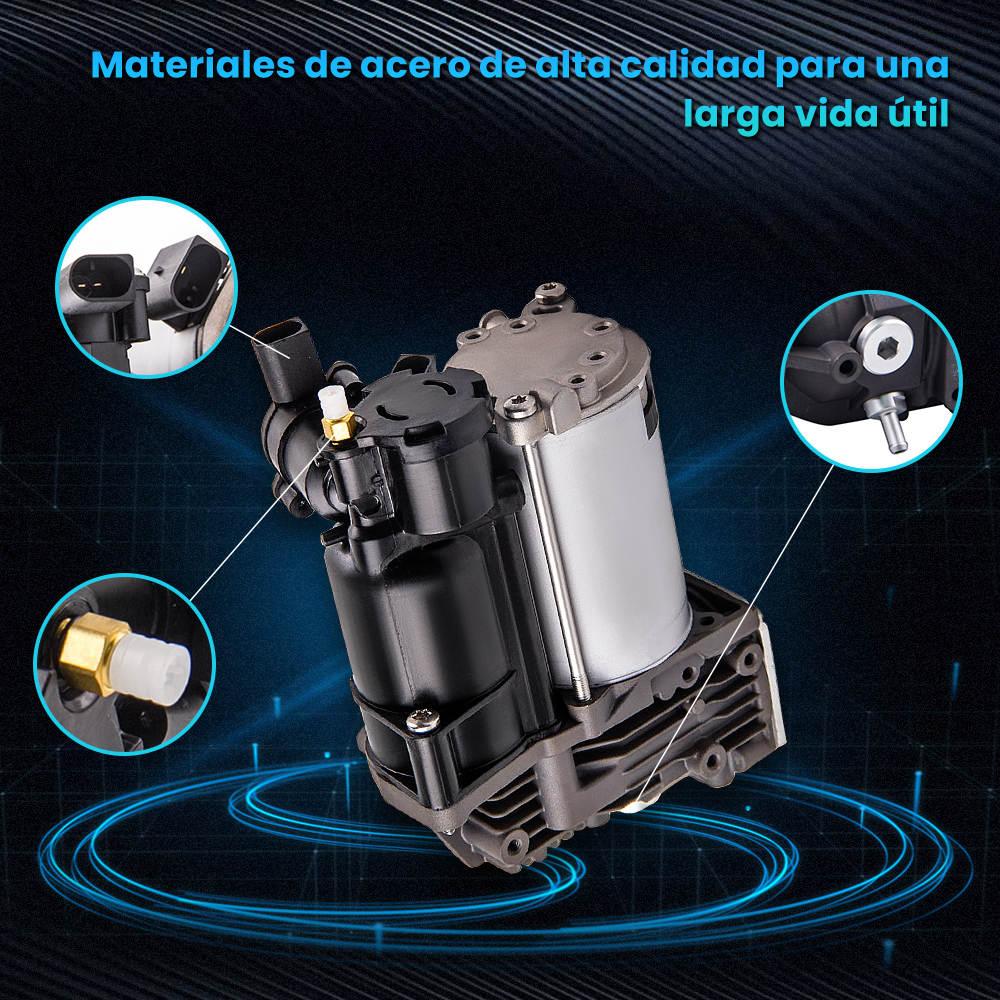 Compatible para BMW X5 (E70)X6 (E71)Suspensión Neumática Compresor + Relé 37206789