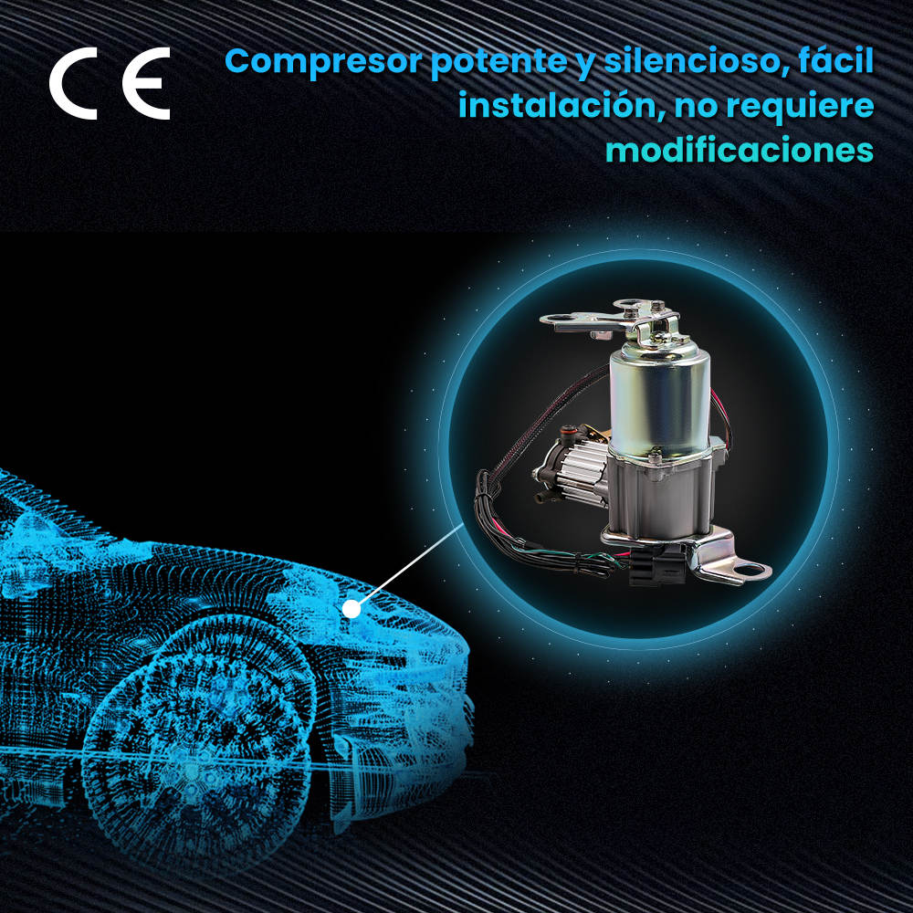 Bomba de compresor de suspensión neumática 4891060021 compatible para Toyota Land Cruiser Prado compatible para Lexus