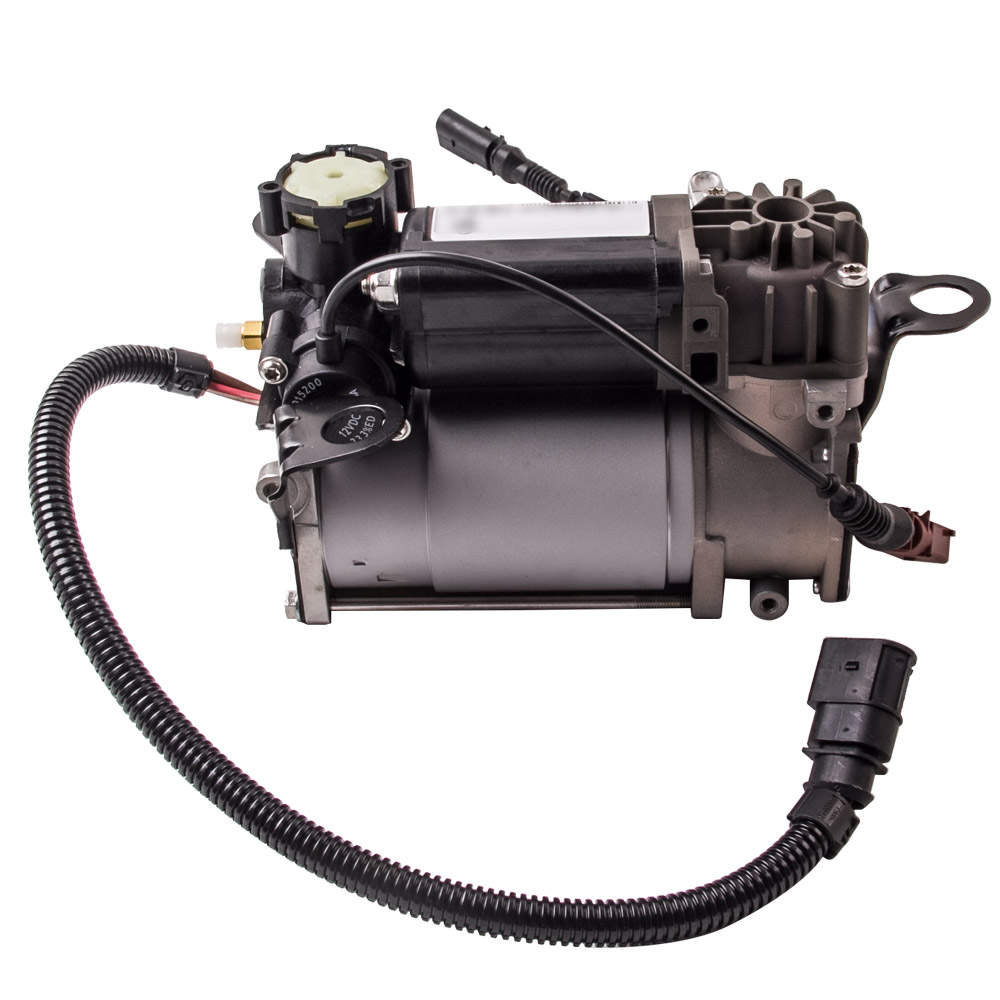 Air Suspension Air Compressor Pump + Relay for Auid A8/S8 D3 4E 03-10 4E0616007E