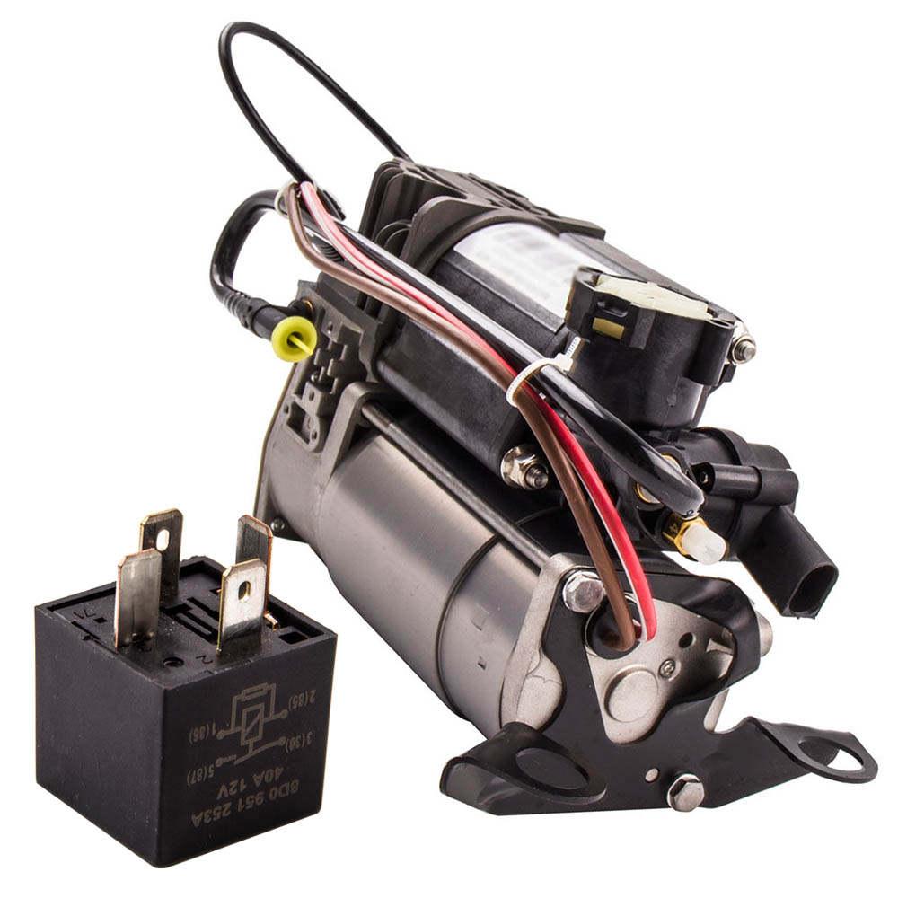Air Suspension Compressor Pump For Audi A6 C6 4F 04-11 AMI 4F0616005D