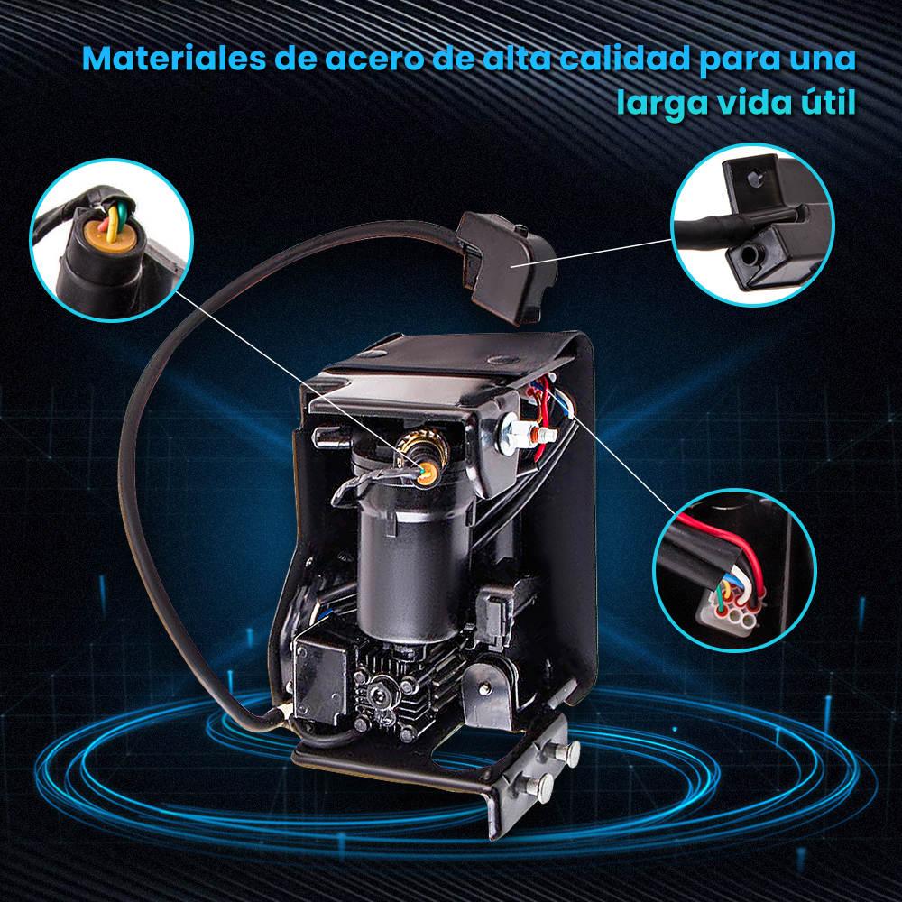 Bomba de compresor de suspensión neumática 2011 compatible para Cadillac Escalade Premium 8Cyl 6.2L 376