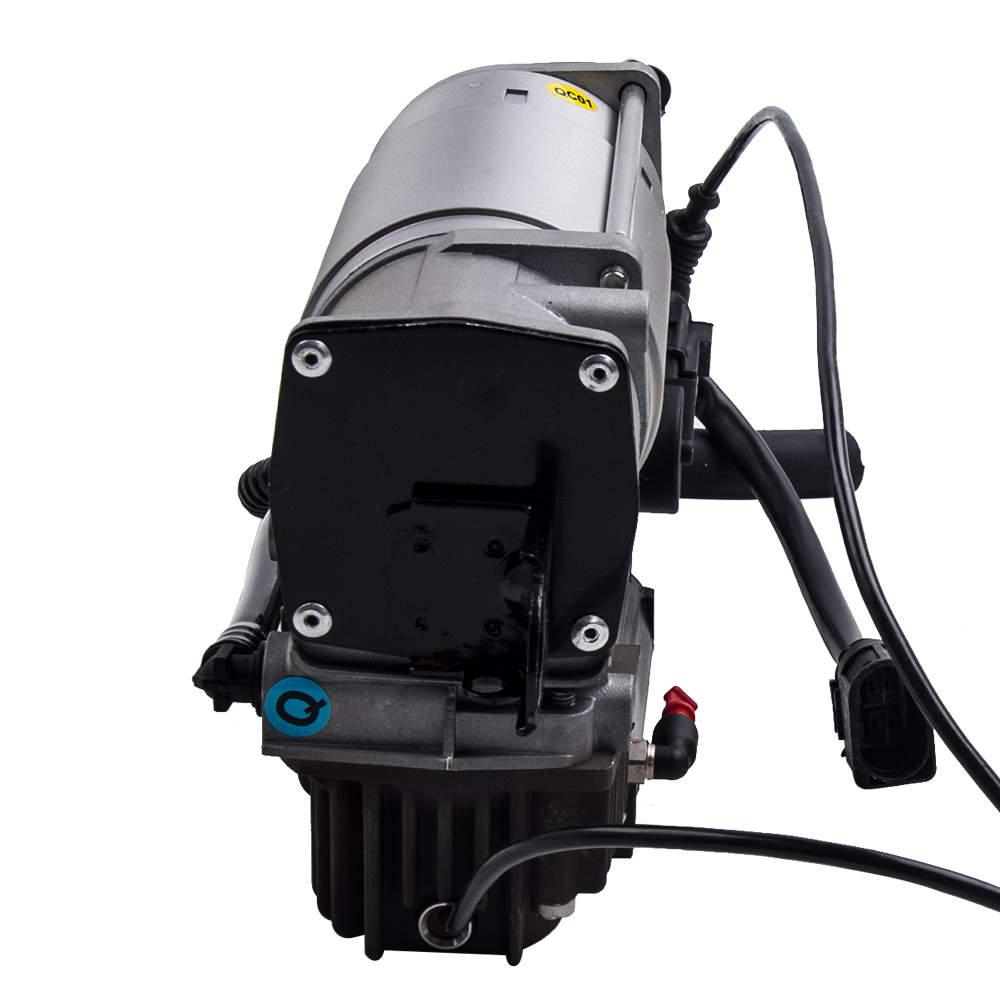 Air Compressor Pump New For Audi Q7 4L0698007C Airmatic Suspension  w/ relay