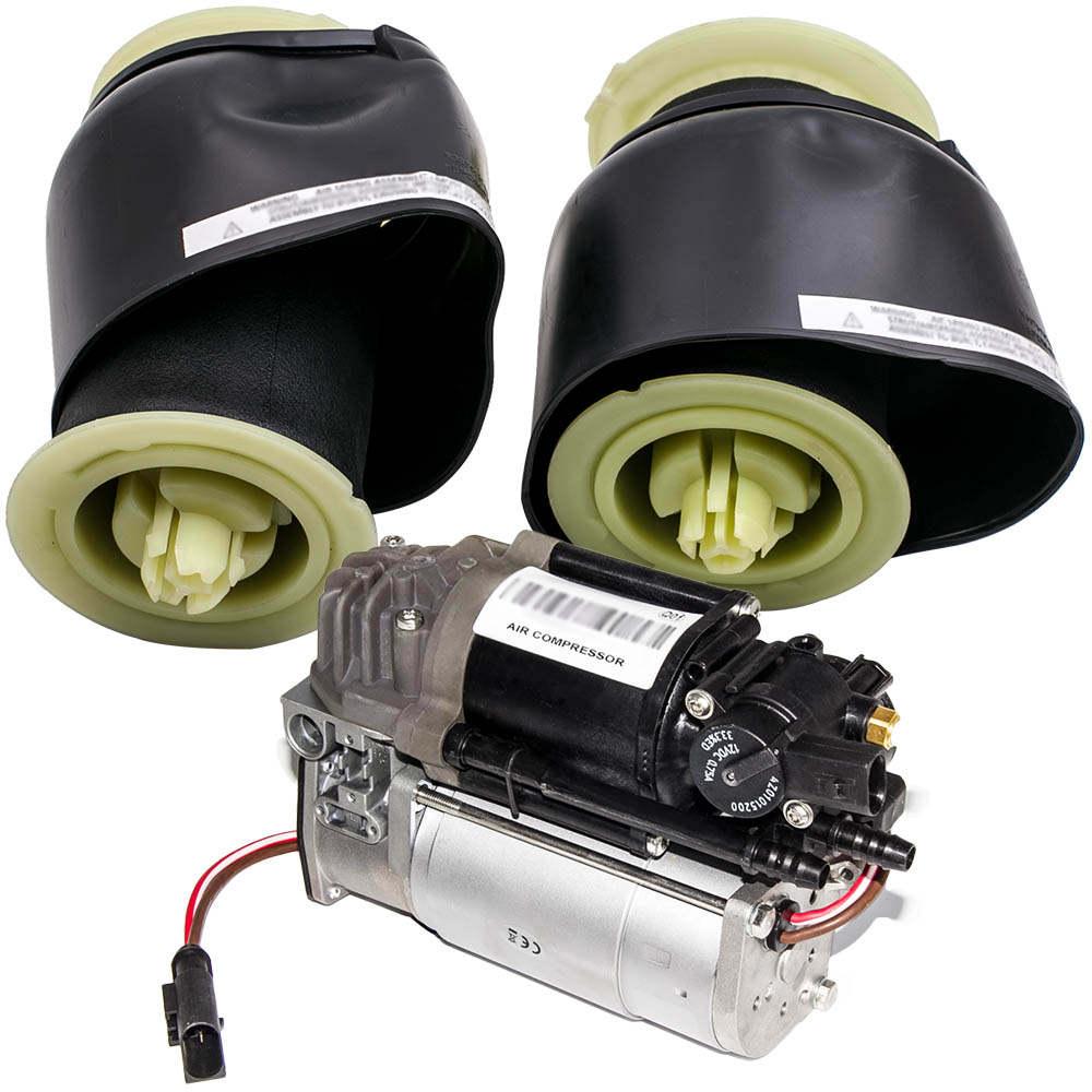 For BMW 5 Series F07 F11 F18 Suspension Pump Compressor + Air Suspension Bag