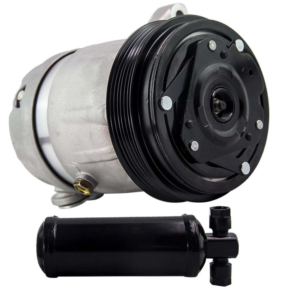 Air Conditioning Compressor & Drier & TX Valve for Holden Statesman WH WK Commodore VT VU VX VY V6