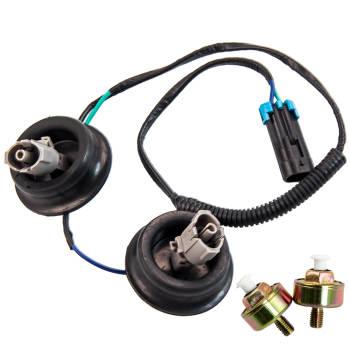 Dual Knock Sensors + Wire Harness for GM LS1 LQ9 LS6 4.8L 5.3L 5.7L 6.0L 8.1L