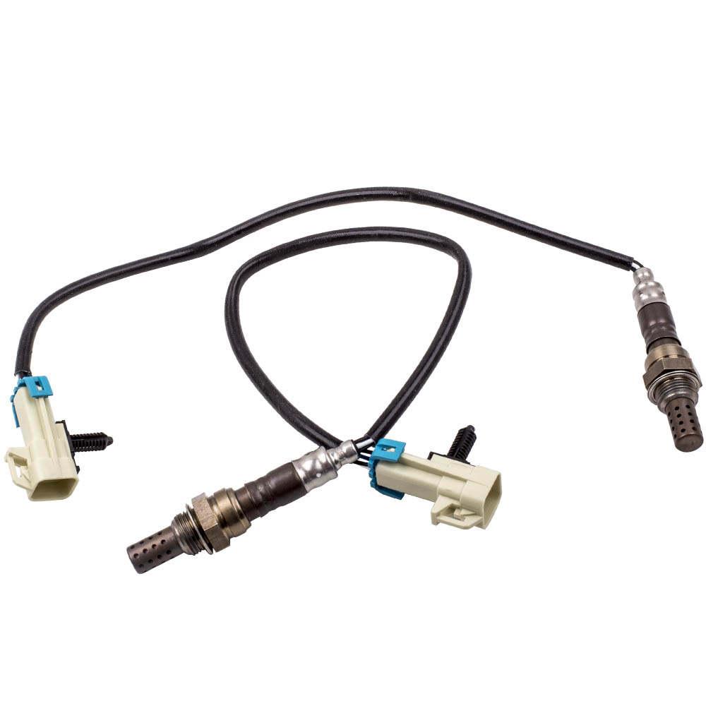 4pc Upstream Downstream Oxygen Sensor O2 02 Sensors for GMC Yukon Chevy 12609457