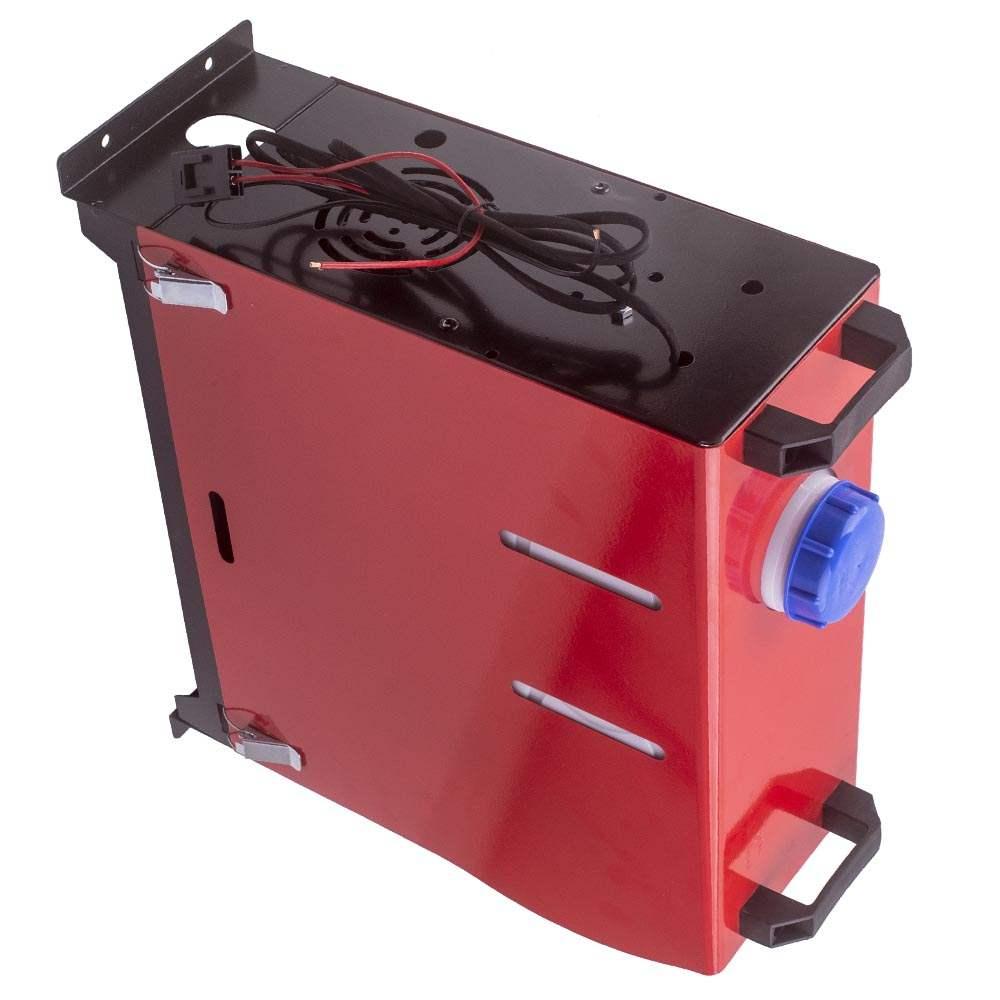 Calentador de aire diesel de 12V 2KW-5KW con monitor LCD de 1 orificio para camioneta de autobús de camión de barco