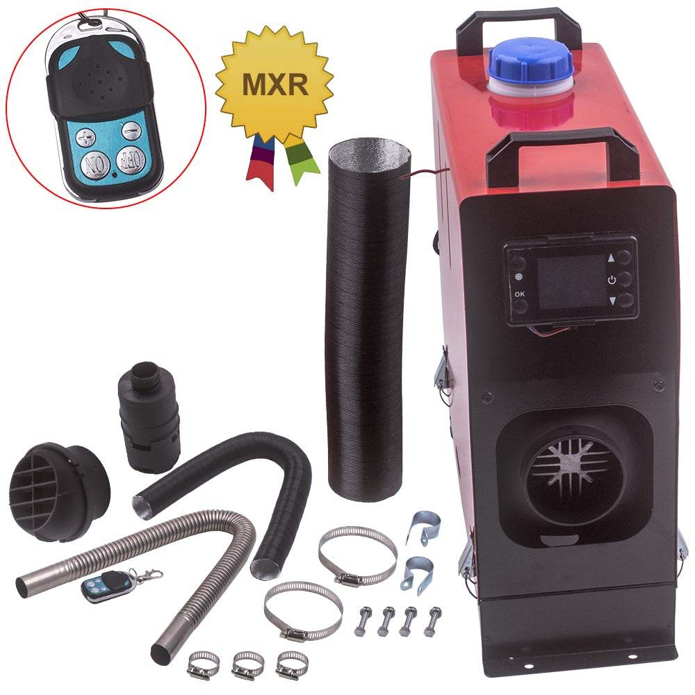 For Lorry MotorHomes Car Boat SUV 5000W Air diesel Heater LCD Remote 2KW-5KW 12V