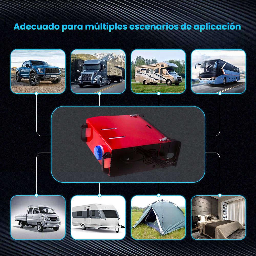 Diesel Air Heater Calentador Calefactor 5KW 12V Calefacción por Aire Termostato