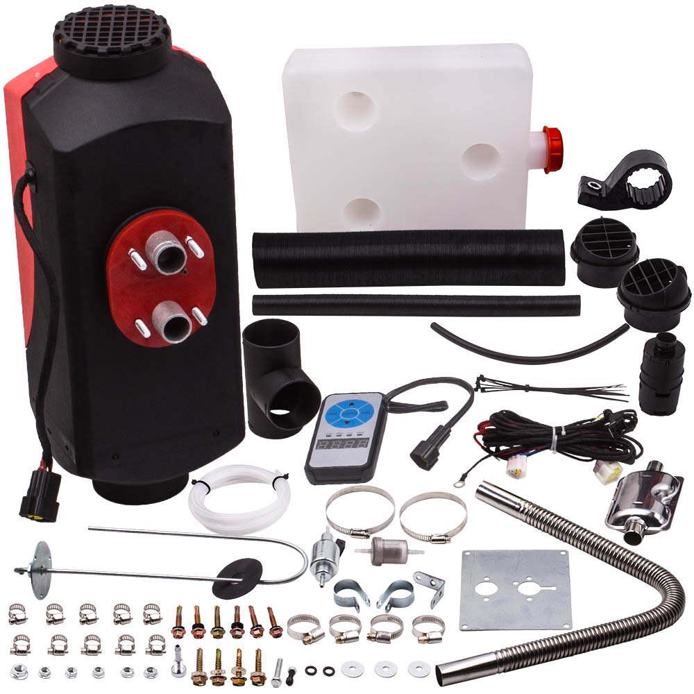 5KW 12V Diesel Air Heater calentador Calefactor Car calefacción por aire Digital