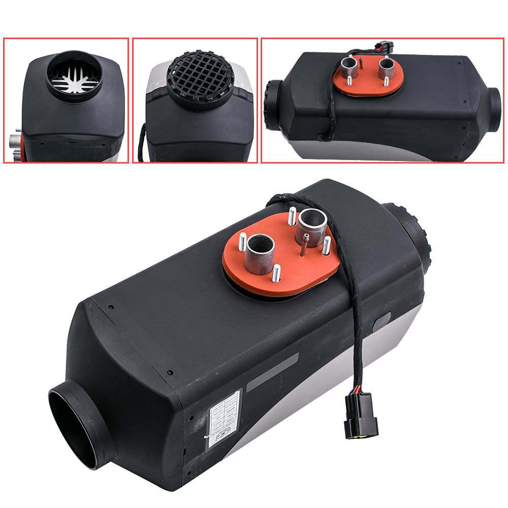 Diesel Air Heater Planar 12V 5KW Digital Switch +2x Silencer/ 10L Tank for Truck
