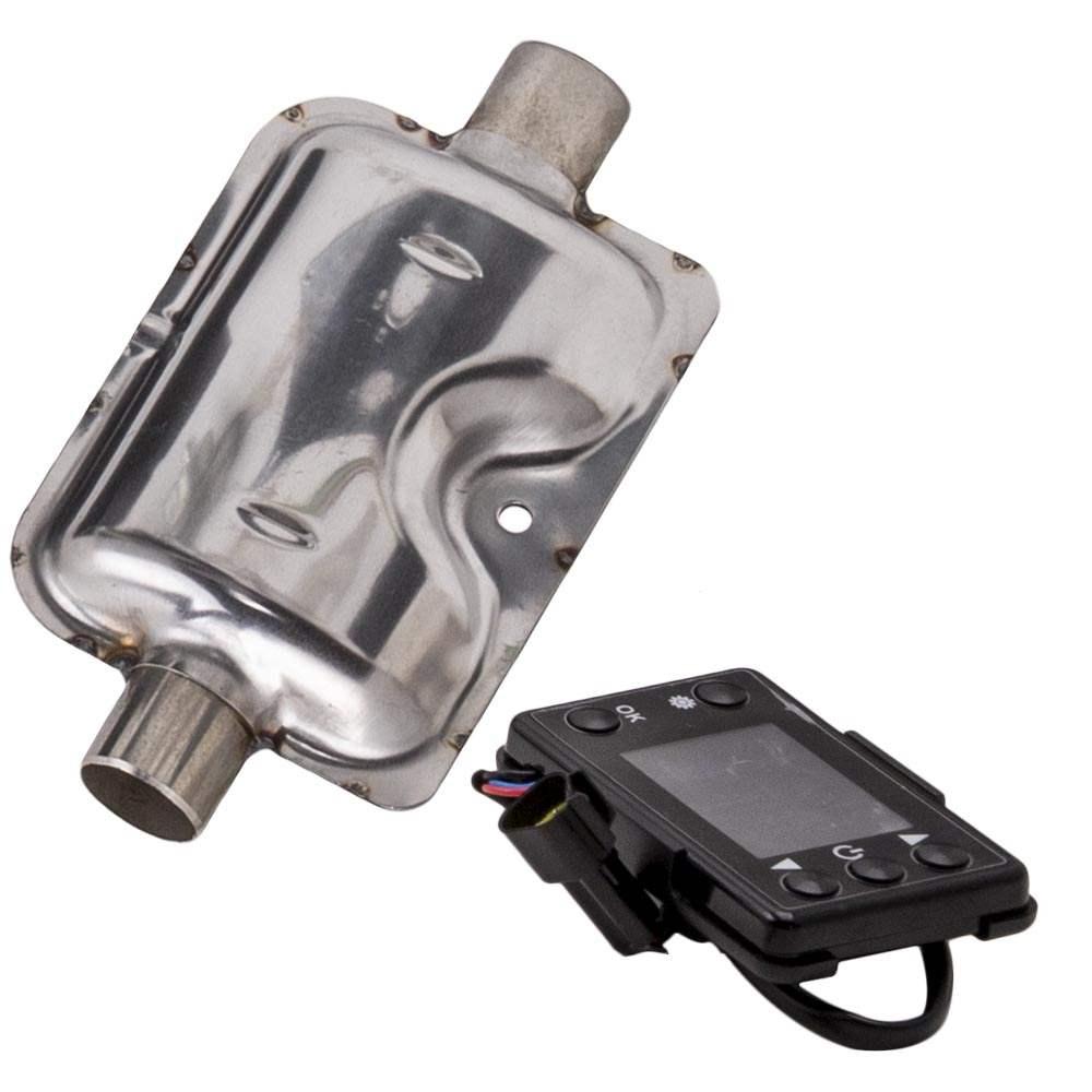 Calentador de estacionamiento de aire diésel 12V 2KW 2 Ventilación para automóviles, camiones, autobuses, montacargas