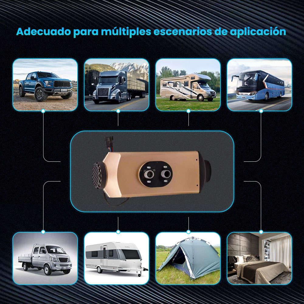 Calentador de aire Diesel Air Heater LCD 5KW 12V para Camiones Motorhomes Bus