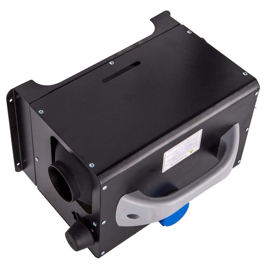 Interruptor de perilla de un orificio del calentador de aire diesel de 5KW 12V para camiones barcos automóviles autobús remolque