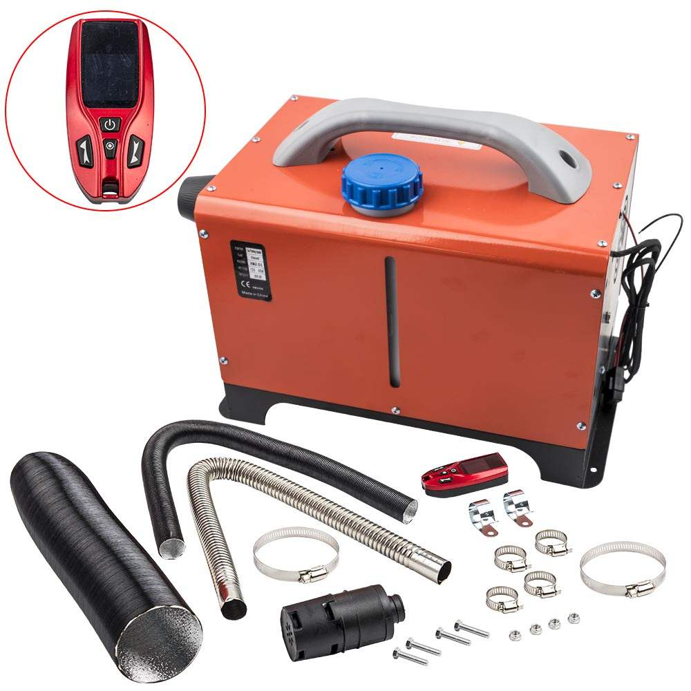 8KW 12V Knob Heating Diesel Air Heater 8000W Calefactor Calentador de Aire Coche