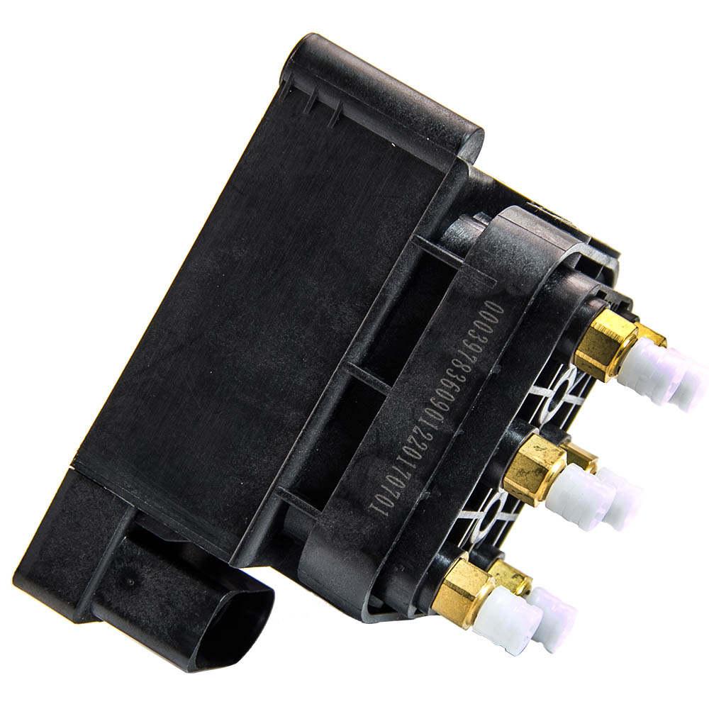 Bloque de válvulas suspensión neumática 4F0616013 compatible para Audi A6 4F2, C6 Sedán