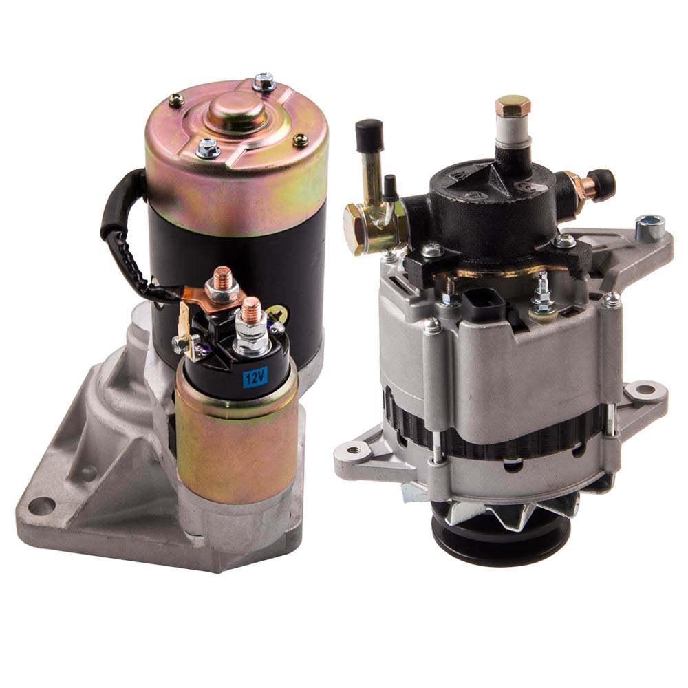 For Nissan GQ / Patrol Generatorlichtmaschine Starter Motor 12V 80A 23300-06J03