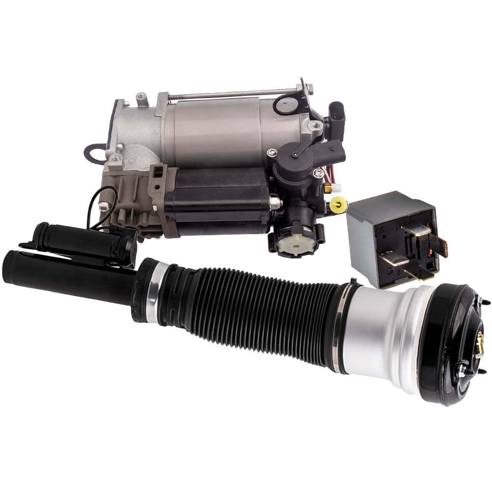 Para el puntal de suspensión neumática delantera W220 S430 S500 de Mercedes y la bomba de aire W220 attes