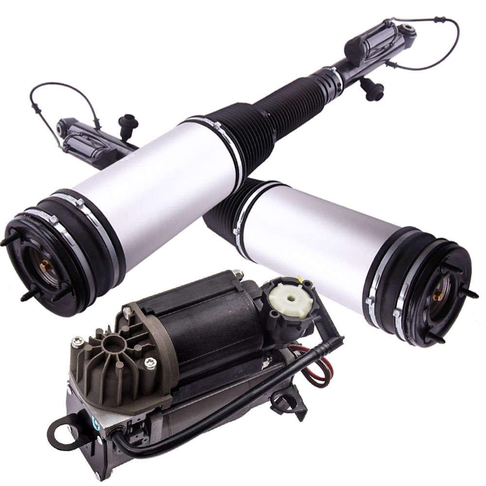 Para Mercedes Clase S W220 Rear Air Suspensión 2203205013 + Air Pump 2113200304