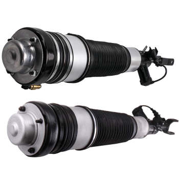 Front Air Shock Suspension Spring R L For Audi A6 C6 4F 2005 2006 2007 2008-2011