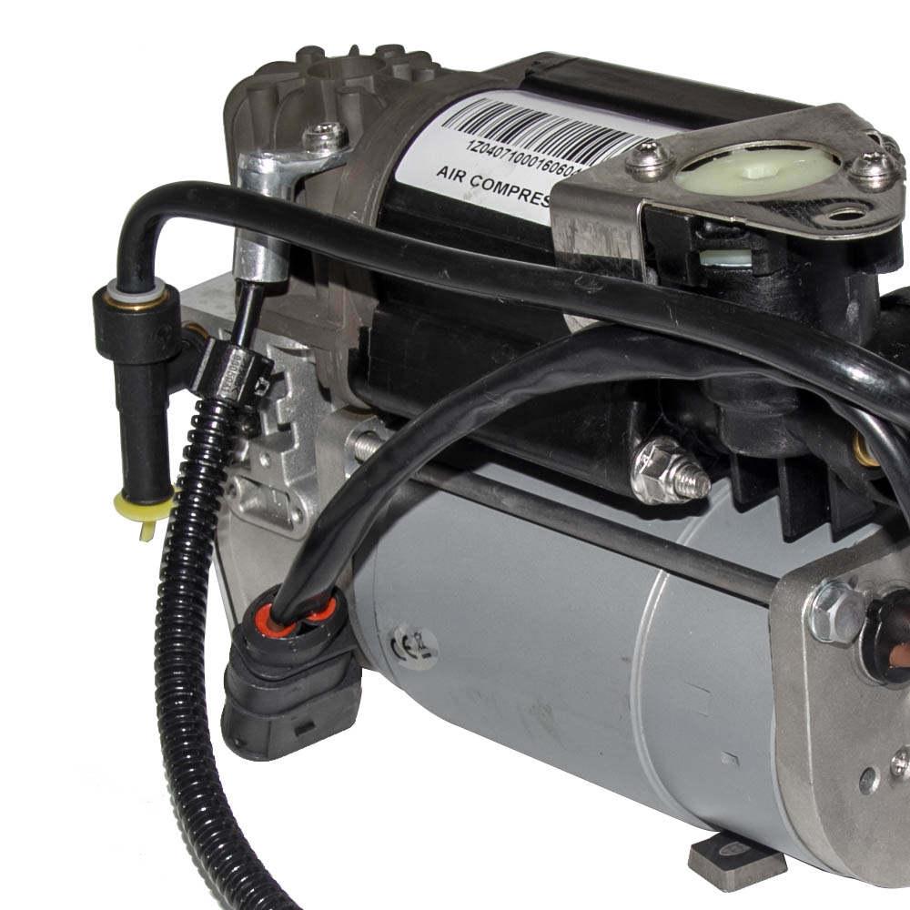 2x compatible para VW Phaeton Suspension Neumática Delantero 3w0616040 3w0616039 + 1x bomb
