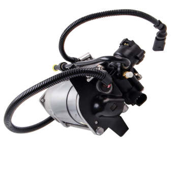 For Audi A6 4B C5 Front Air Ride Spring Shock + Compressor Inflatable Pump