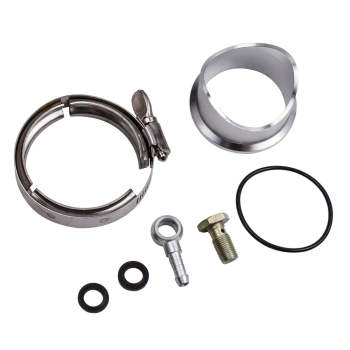 50MM V-BAND Turbo Charger Blow Off Valve BOV DUMP VALVE with 2 Springs