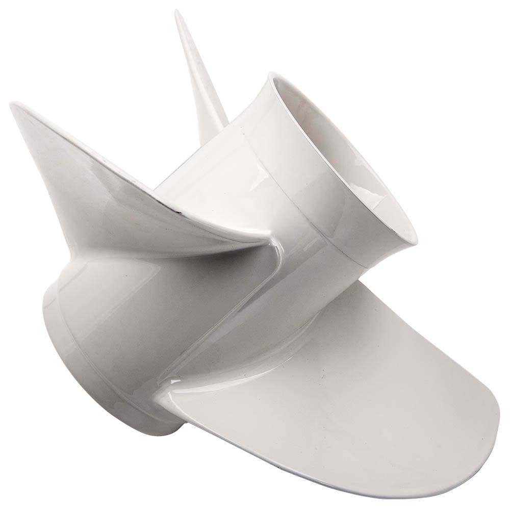 Hélice compatible para Yamaha fueraborda 13 1/2 x 15 K 50-130 CV 15 dientes 75 90 100 CV Nuevo