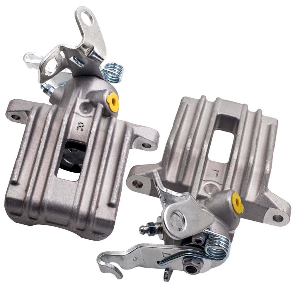 2 Pinzas Freno Trasera izquierda y derecha set compatible para audi a3 8p + Compatible para vw golf 5 y 6
