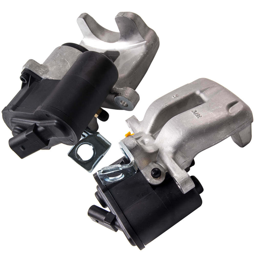 Pair Electric Parking Brake Calipers For VW Passat 3C 05-07